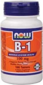B-1 (Thiamine) 100mg Tablets (100 ct)