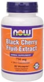 Black Cherry Fruit Extract 750 mg - 90 Vcaps