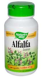 ALFALFA LEAVES (100 capsules)
