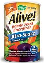 Alive! Ultra-Shake Soy Protein Vanilla 1.3 lb