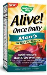 Alive! Once Daily Men's (60 tabs)
