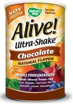 Alive! Ultra-Shake Soy Protein Chocolate 1.3 lb
