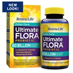Ultimate Flora Colon Care 80 Billion (60 caps)
