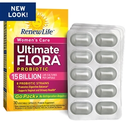 Ultimate Flora Women's Care  Probiotic Go Pack 15 Billion (30 ct)