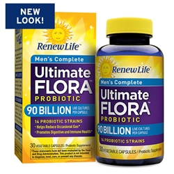 Ultimate Flora Men's Complete 90 Billion (30 Caps)