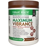 Vibrant Health Maximum Vibrance Version 1.1, Chocolate (28.2 oz)