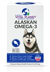Alaskan Omega-3, Chicken Flavored (60 Softgels)