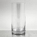 "CLEARANCE - Glass Cylinder Vase, 8"" x 4"""