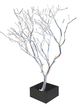 "Manzanita Branches 24"" with Base, Select Your Colors"