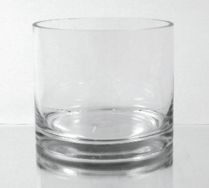 Glass Cylinder Vase 6 Quot X 6 Quot