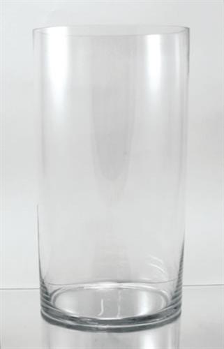 Glass Cylinder Vase 16 X 7