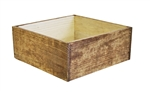 Rustic Brown Large Slim Design Container