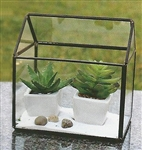 Geometric Glass Terrarium, A-Frame