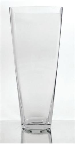 Tapered Square Vase 16 Quot X 6 Quot