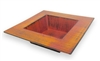 Rustic Centerpiece Dish, Orange/Rust