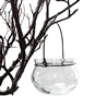 Globe Votive Candle Holders, Clear