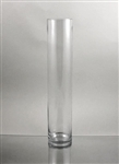 "CLEARANCE - Glass Cylinder  Vase, 16"" x 4"""