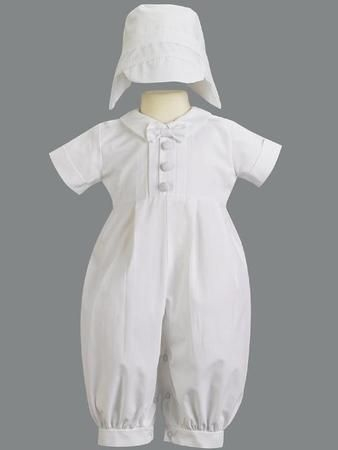 Boy Christening Baptism Clothes Medicine Hat AB