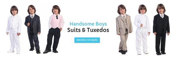 Suits Ring Boy Tuxedo for Infant Toddler Hamilton