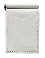 white pearl back saver wallet