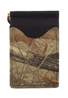 black wallet with real tree hardwoods camo pockets