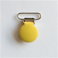 Elastic Double-Ended Clip - Yellow
