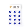 Dozen Two Piece Magnets - Royal Blue