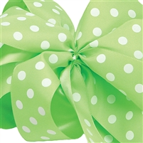 Ribbon - Apple Polka Dots