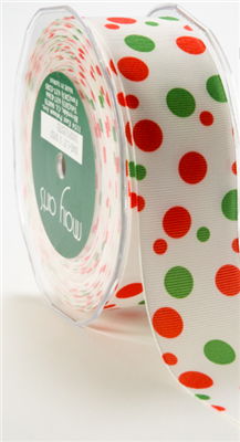 Ribbon - Christmas Dots