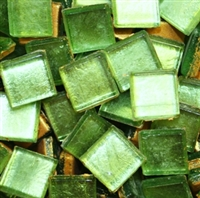 Crystal Metallic Tiles..Lime..3/8""