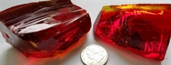 Cotisso Transparent Red