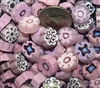Assorted Pinks..12-14mm..NEW!