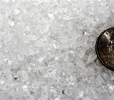 Transparent Crystal Coarse Frit - Back in stock!