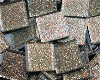 "Glitter Tiles..3/4""..Grey Confetti"