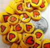 Heart..43..12-14mm..NEW Size!