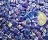 Tie Dye Tiles..Iridescent Moondance Navy