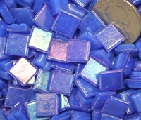 Metallic Mini Tiles..Blue..3/8""