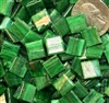 Metallic Mini Tiles..Green..3/8""