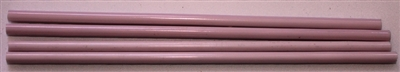 Rods..3-Opaque Pastel Pink..5-6mm