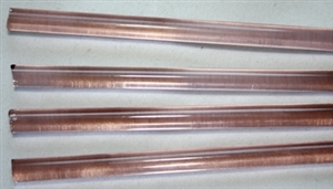 Rods..40-Pink Transparent..6-7mm