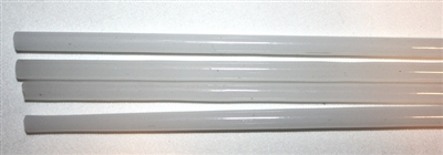 Rods..53-Translucent White..5-6mm