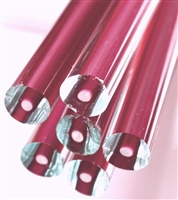 Rods..68-Rose/Clear..10-12mm