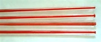 Rods..78-Red-Orange Filigrana..4-5mm