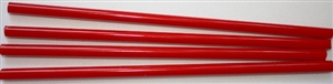 Rods..5-Bright Opaque Red..5-6mm