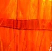Orange Stained Glass