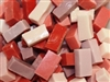 Assorted Smalti..Red-Pinks
