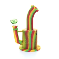 Silicone  Water Pipe / Rig  9''