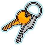 Keys - Sentry Safe Replacement Keys