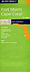 City Map of Ft. Myers and Cape Coral, Florida by R