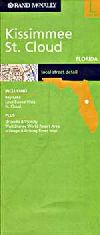 City Map of Kissimmee and St. Cloud, Florida by Ra